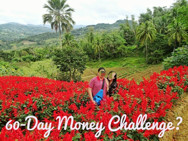 Frugal husband and me at the Sirao flower farm up in the mountains of Cebu